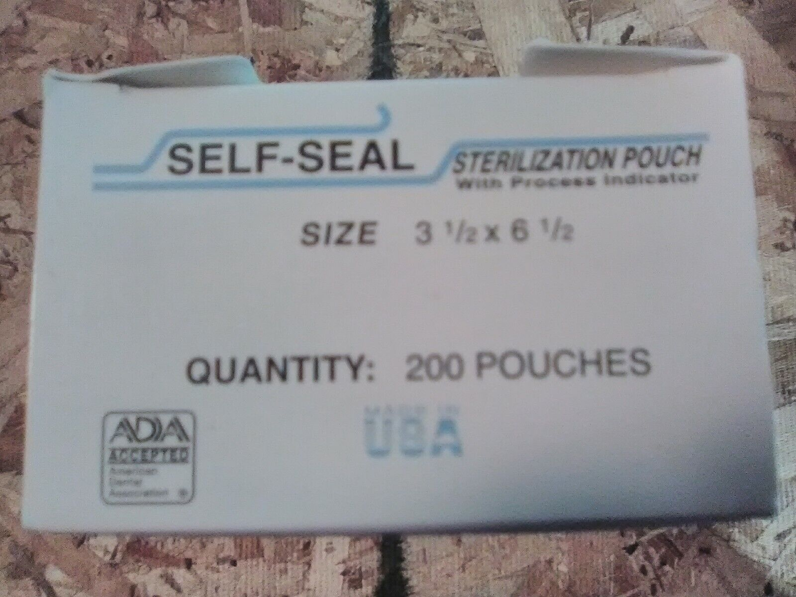 400 3.5x6.5 Sterilization Bags Self-Seal Autoclave Pouches Dental TATTOO Labs - $23.57