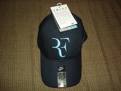0f6e5ec1d4ed6 NWT Nike Federer RF Dri-FIT Legacy 91 Tennis Hat Cap Base Grey 371202-455  Nadal