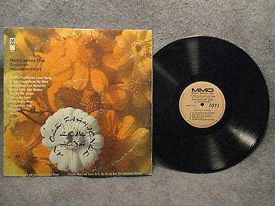 33 RPM LP Record Music Minus One An Old Fashioned Love Song MMO Records MMO 1071