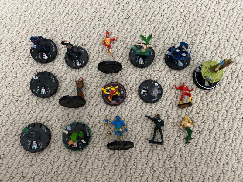Heroclix Broken lot Modding Figures Super Rare No Cards