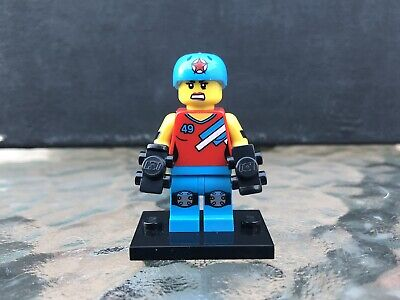 LEGO Roller Derby Girl Collectible Minifigure Series 9 (71000) Complete Genuine