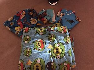 Angry birds bedding