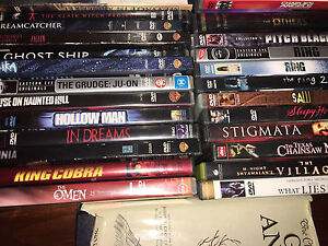 23 mixed horror DVDs Summer Hill Ashfield Area Preview