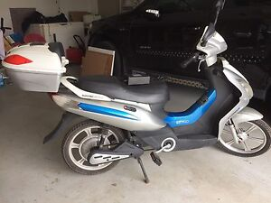 Electric bike new battery and charger