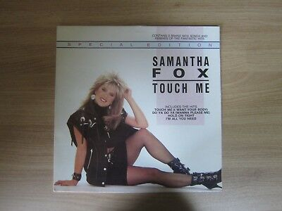 Samantha Fox ‎– Touch Me 12 Track Special Edition Vinyl LP 1987