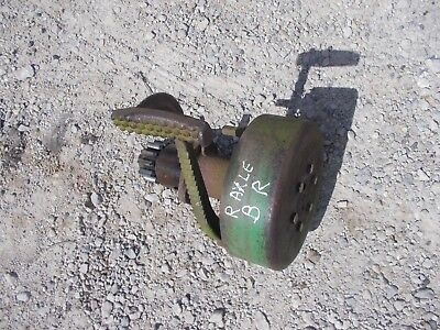 John Deere B Rax Tractor Jd Right Brake Pedal Inner Parts Drive Gear