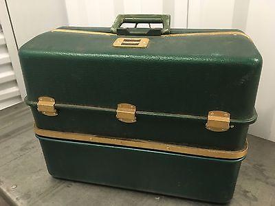 RARE!!  Umco 1000U Possum Belly Tackle Box w/ Insulated Cooler Antique Lure Box