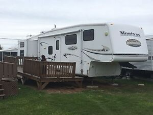Rental at Gagnon Beach campground