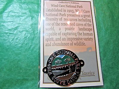 WIND CAVE NATIONAL PARK HIKING MEDALLION SOUTH DAKOTA SOUVENIR-H55