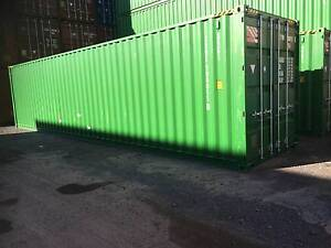 Brand New 40ft High Cube Shipping Containers in Sydney Tempe Marrickville Area Preview