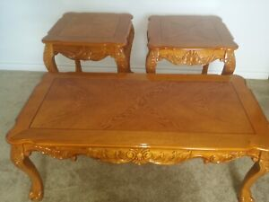 3 pices coffee table set