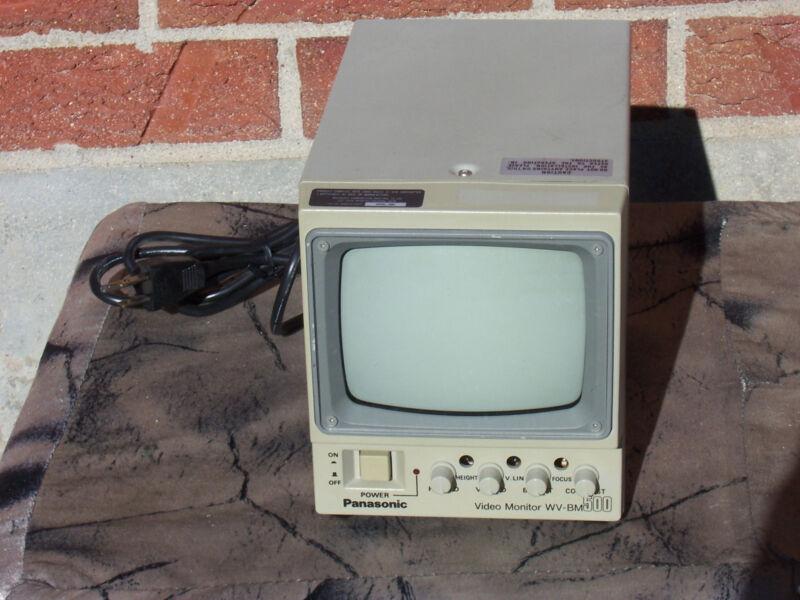 "Panasonic WV-BM500 5"" Black and White Monitor"