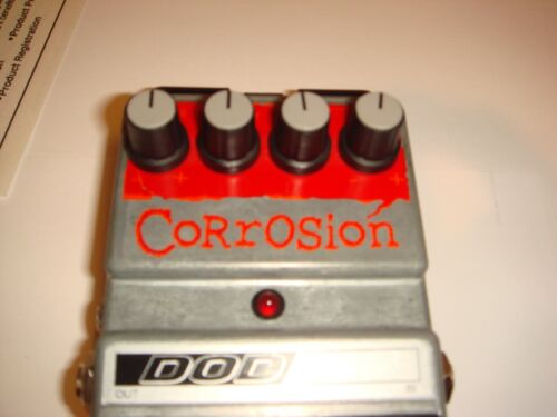 DOD Effects Pedal FX-70c Corrosion