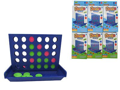 24x 4 in einer Reihe Linie Gewinnt Gesellschaftsspiel Reisespiel Giveaway