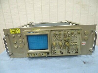 Tektronix 2445 Oscilloscope W 016-0691-00 Back Adapter