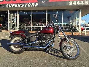 2009 HARLEY DAVIDSON SOFTAIL FXSTB MAROON Osborne Park Stirling Area Preview