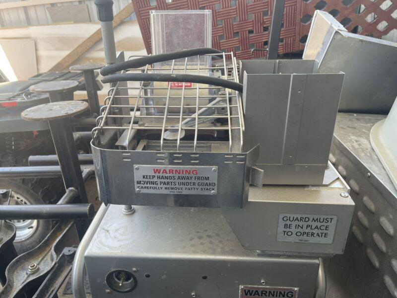 hollymatic patty machine 54 1/2 Lb