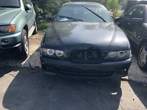 BMW E39 5 series 525i 2001 automatic black now wrecking!!! Northmead Parramatta Area Preview