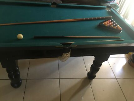 6x4 pool table great for teens to learn