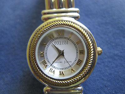 ladys sterling silver ECCLISSI watch bracelet