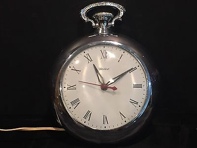 "Vintage United Electric ""Pocket Watch"" Wall Clock"