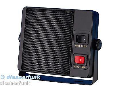 CB FUNK & Scanner Lautsprecher mit Geräuschfiter & Abschwächer 8Watt TOP Sound