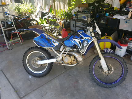 Rare honda crm250 swap for roadbike
