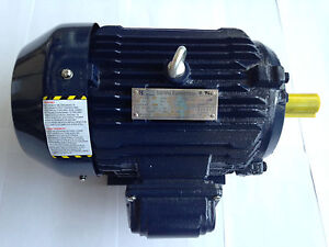 NEW! 15 HP ELECTRIC MOTOR 1800 RPM 254T Frame  Severe Duty 2 YR Warranty