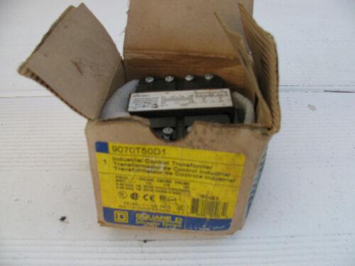 Square D Industrial Control Transformer. Part 9070T50D1.