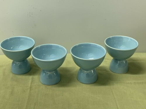 "TAYLOR, SMITH, TAYLOR  ""LURAY""  BLUE, EGG CUPS  --  4"