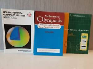 Olympiad Textbooks from Mathematical Association of America