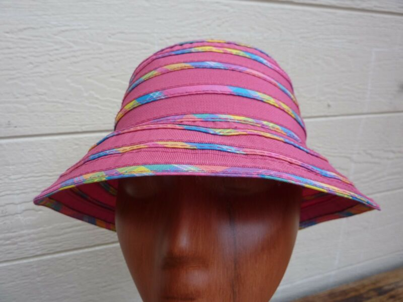 Girl's Child's Dorfman Pacific Sun Bucket Hat / Kindercaps / Pink / One Size (S)