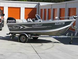Bluefin Wildcat 4.35 fishing boat Taree Greater Taree Area Preview