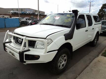 WRECKING D40 NAVARA, ARB BULLBAR, LONG RANGE TANK, SNORKEL ETC Wingfield Port Adelaide Area Preview