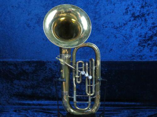 Bundy H&A Selmer 3 Valve Baritone Horn Ser#59268 w/Detachable Bell Plays Great!