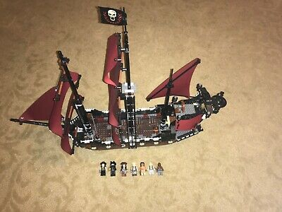 Lego Pirates of the Caribbean Set 4195 Queen Anne's Revenge complete