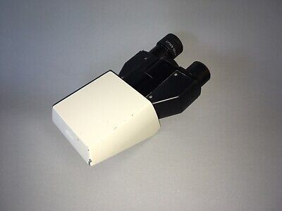 Nikon Optiphot Laboratory Binocular Microscope Head 127723 W One Cfwn 10x20