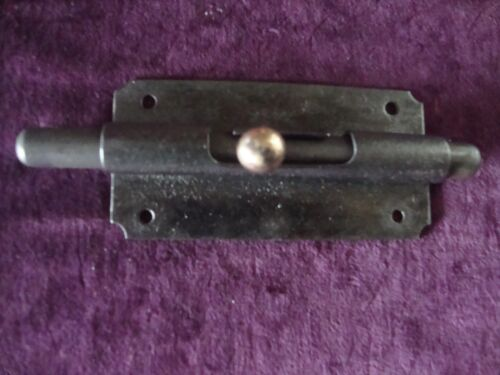 Antique vintage two way slide bolt