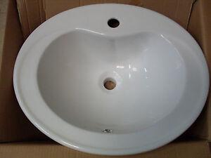 Lavabo incasso lavandino sanitari soprapiano bt006 cm56x46x20 assicurato ebay - Lavandino bagno incasso ...