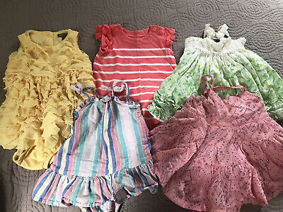 Girl 0-3 Month Baby Gap Dress With Bloomers Outfit Clothes Lot
