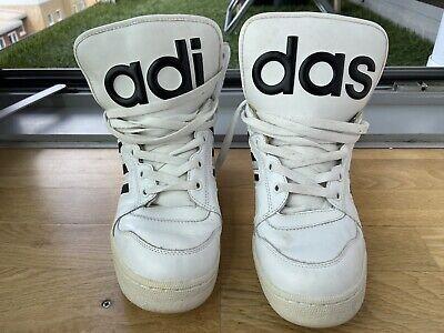 Adidas Originals Jeremy Scott Instinct Hi White 9 UK Mens Used Very Rare V24529