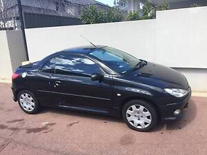 2006 Peugeot 206 Convertible Swanbourne Nedlands Area Preview