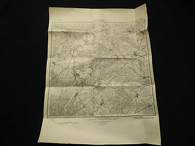 Landkarte Meßtischblatt 3950 Groß Leuthen, Dollgen, Guhlen, Bückchen, 1945