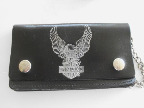 Harley-Davidson Vintage NOS  WALLET LEATHER  80