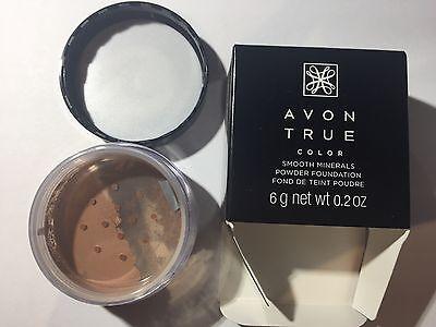 Avon True Color Smooth Minerals Powder Foundation Spice Avon Mineral Powder