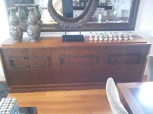 Solid Timber Side Table from Moving Sale Rose Bay Rose Bay Eastern Suburbs Preview