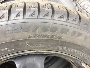 2011 CHEV EQUINOX WINTER TIRE AND RIM PACKAGE WITH TPMS