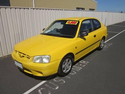 2001 Hyundai Accent GL 1.5i Hatchback West Busselton Busselton Area Preview