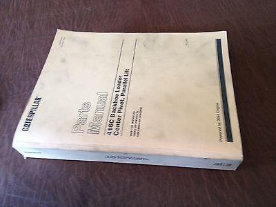 Caterpillar Cat 416c Series Backhoe Loader Parts Book Manual Sn 1kr 1wr Diesel