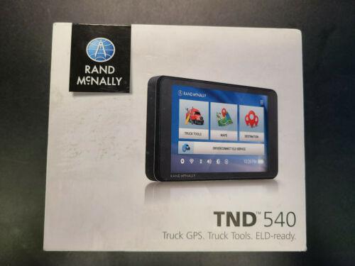 New in Box Rand McNally TND540 Truck GPS Unit